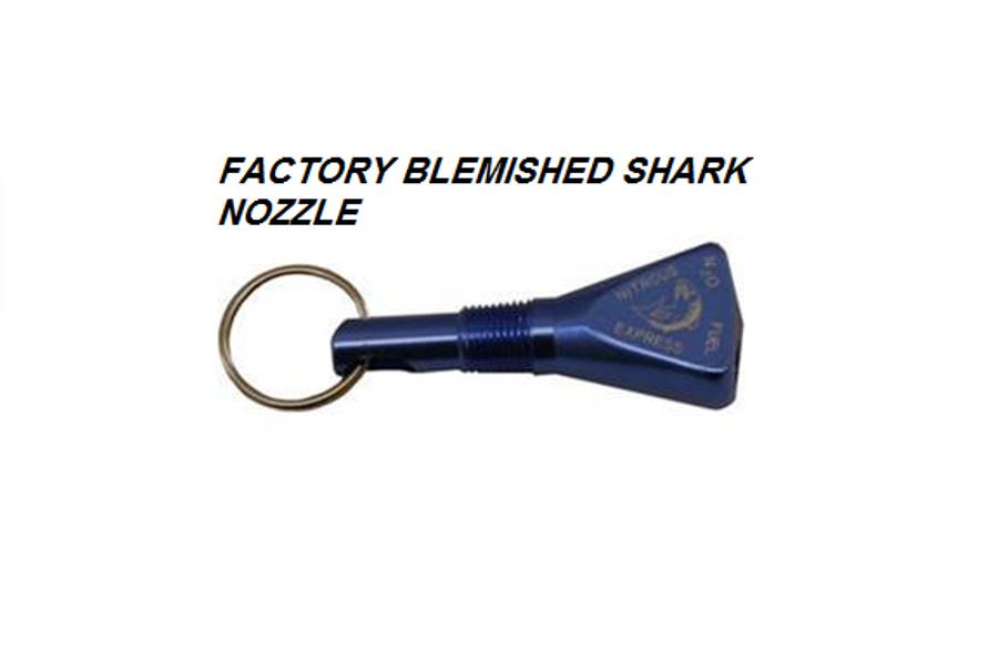 LLAVERO FACTORY BLEMISHED SHARK NOZZLE