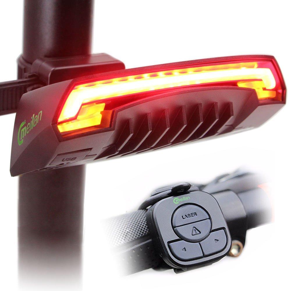 Meilan, luz trasera para bicicleta inteligente X5
