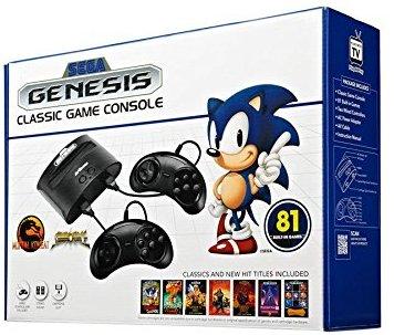 Sega génesis classic, video juegos